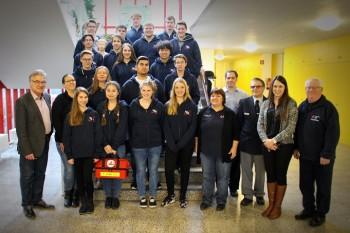 Schüler leisten Erste Hilfe - Kooperation zwischen dem DBG-Schulsanitätsdienst und dem Deutschen Roten Kreuz