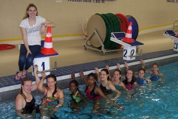71 Sekunden fehlten - DBG-Schwimmerinnen bei Jugend trainiert für Olympia