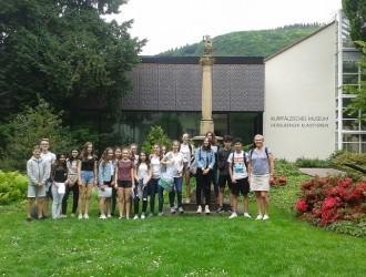Exkursion der 8a ins Kurpfälzische Museum Heidelberg