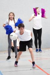 Fußball- und Basketball-Turnier erfreute die Schüler - Schülermitverantwortung veranstaltete DBG-Cup
