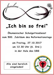 dietrich-bonhoeffer-gymnasium: eppelheim, Einladung