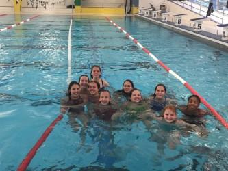 DBG-Schwimmerinnen auf der Erfolgswelle  - Einzug ins Regierungspräsidiums-Finale gelungen