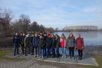 Fragen an die deutsche Geschichte - Klasse 9c besucht Nürnberger Justizpalast