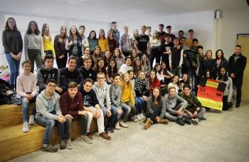 Aus der Großstadt in die Kleinstadt - Austauschschüler aus Madrid waren zu Gast am DBG