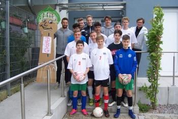 Turbo zu spät gezündet - DBG-Fußballer bei Jugend trainiert für Olympia