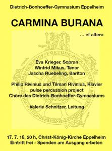 Carmina Burana DBG 170718
