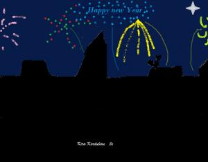 happy new year_kira