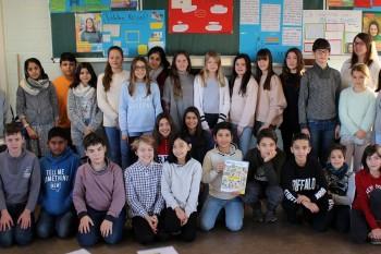 Schüler schrieben an Frauen in Not - Sechstklässler des DBG machten mit beim Amnesty-Briefmarathon