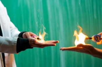 """Ein Feuerwerk an Vorführungen - Im DBG wurde zum """"Tag der offenen Tür"""" ein vielfältiges Programm geboten"""