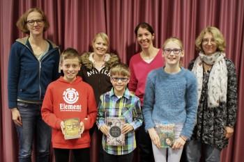 Janis ist der beste Vorleser - Geschichten über mutige Kinder beim Vorlesewettbewerb am DBG