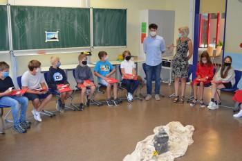 """In der Klasse 5a sitzen die """"Gipfelstürmer"""" - Am DBG wurden vier neue Klassen eingeschult"""