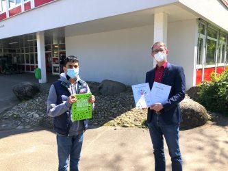 """""""Warum tun wir nicht mehr gegen den Klimawandel?"""" Ratin Sazedul vom DBG erfolgreich beim Schülerwettbewerb des Landtags Baden-Württemberg"""