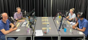 Ungeschminkt und ungeschnitten - Schüler des DBG führten Gespräche mit Bundestagskandidaten im Podcast-Studio der SRH Hochschule Heidelberg